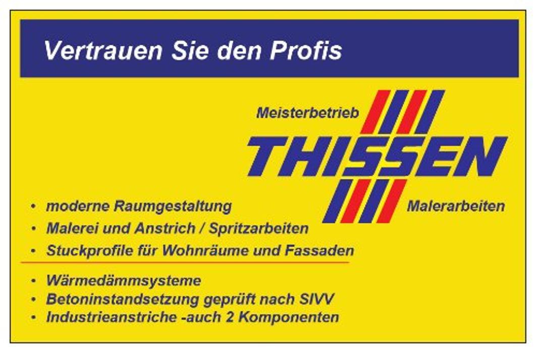 Bild zu Malerbetrieb Thissen in Krefeld