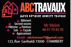 A.B.C. TRAVAUX SECOND OEUVRE Autres services