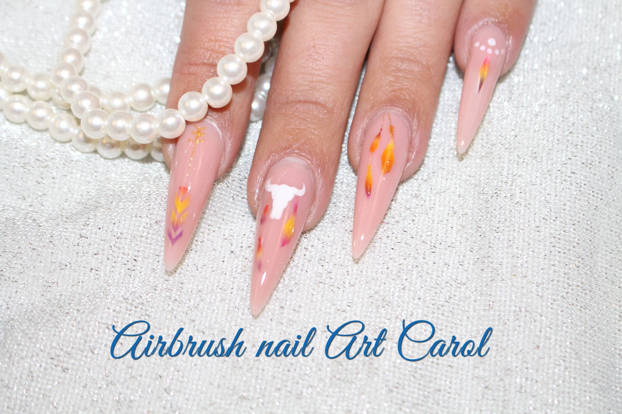 Airbrush Nail Art Carol