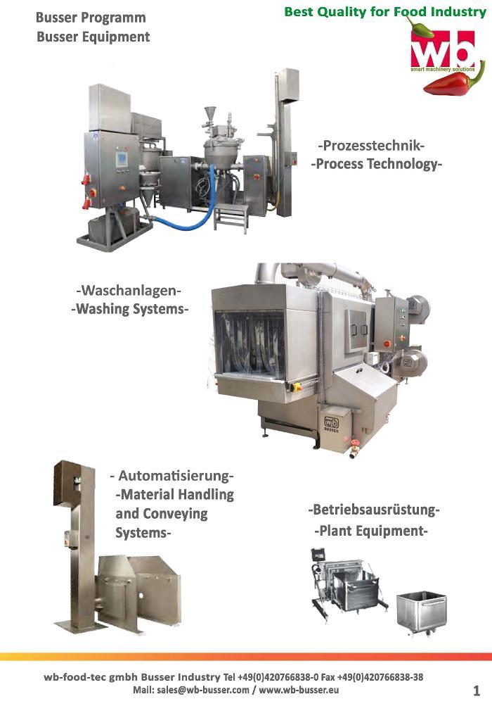 Bild zu WB - food - tec GmbH Busser Industry in Bremen