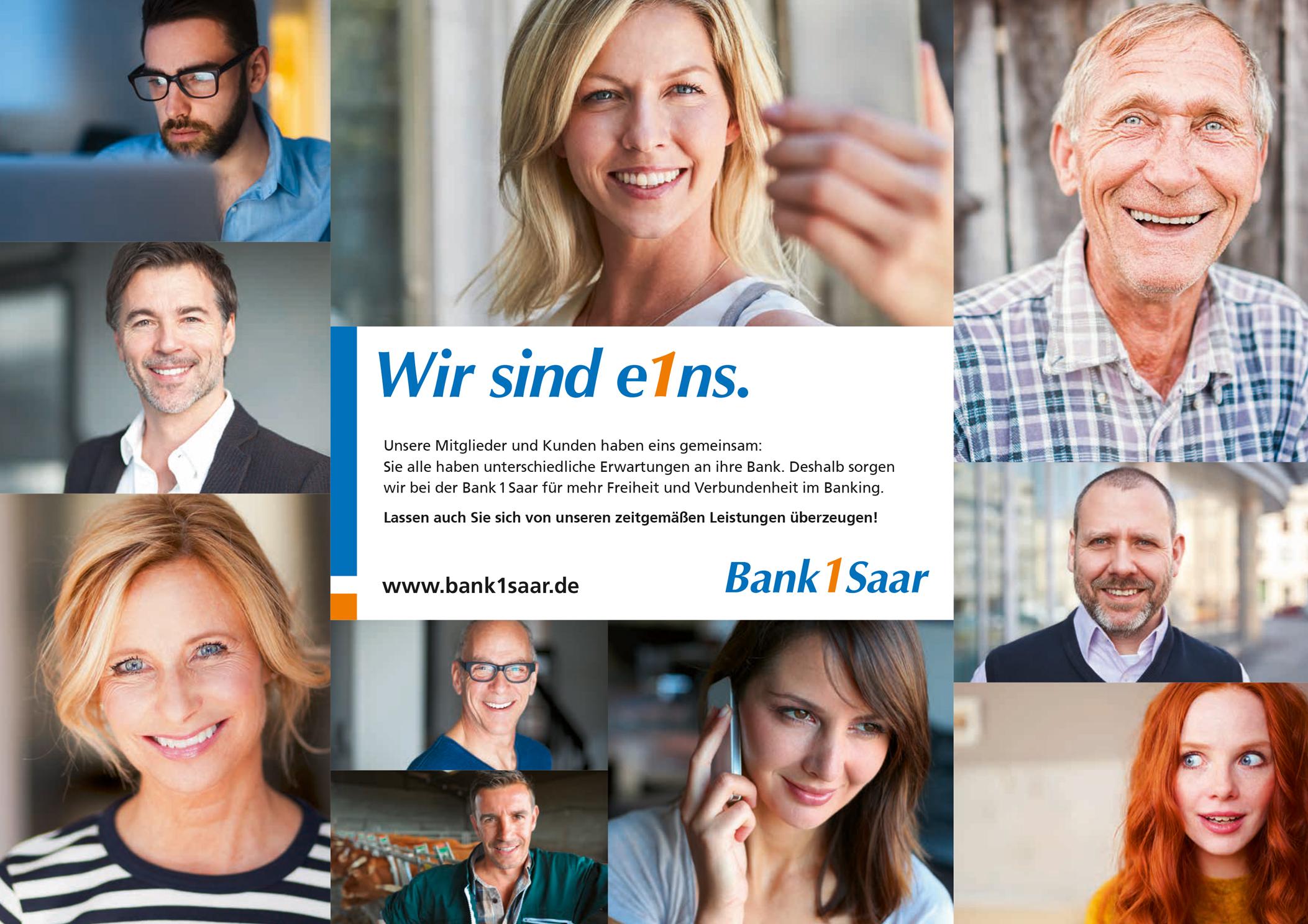 Bank 1 Saar eG Filiale Wolfersweiler