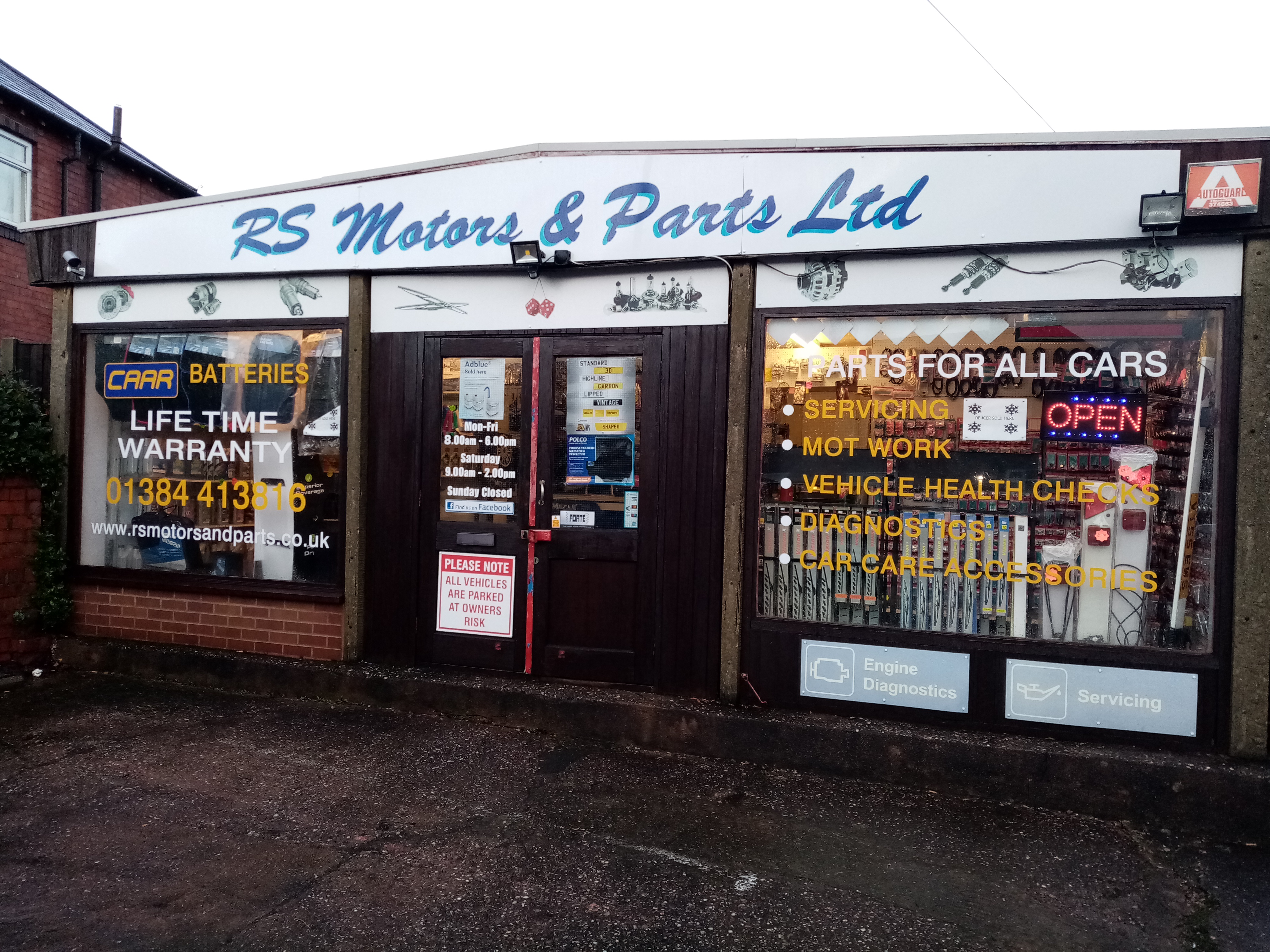 RS Motors and Parts Ltd.