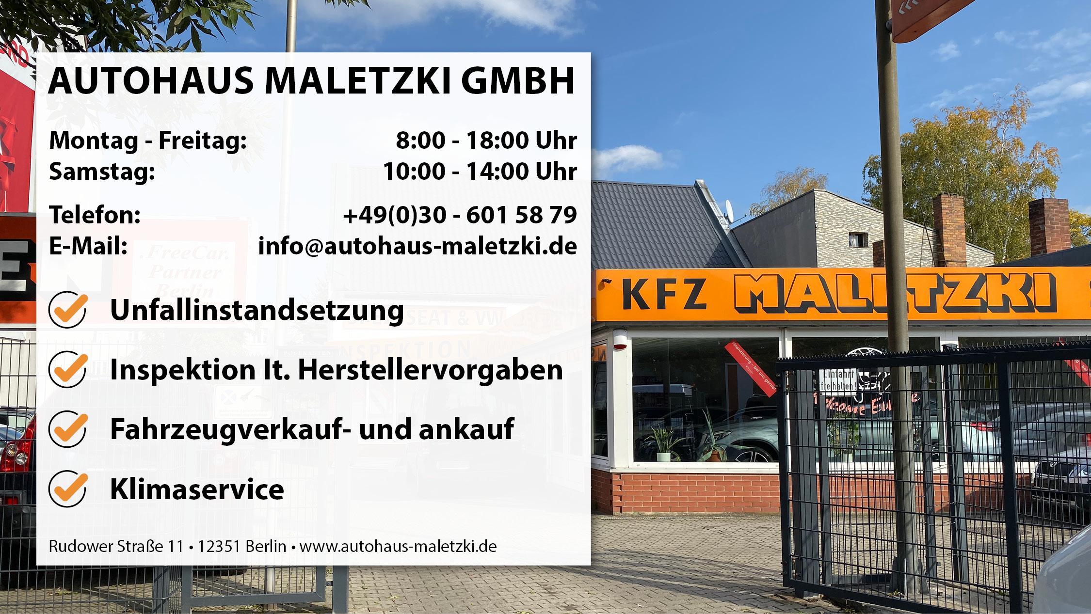 Autohaus Maletzki GmbH, Rudower Straße in Berlin