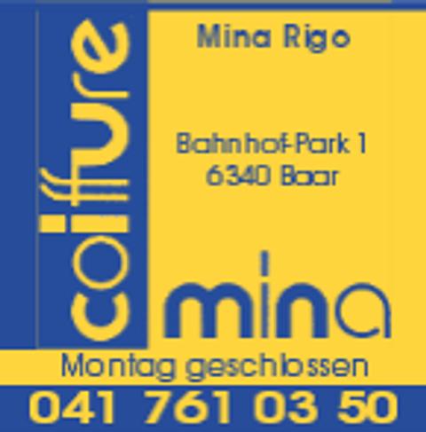 Coiffure Mina