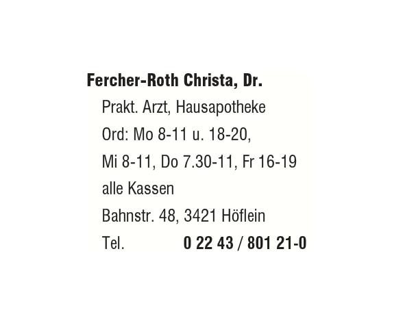 Dr. Fercher & Dr. Ehrentraut Gruppenpraxis