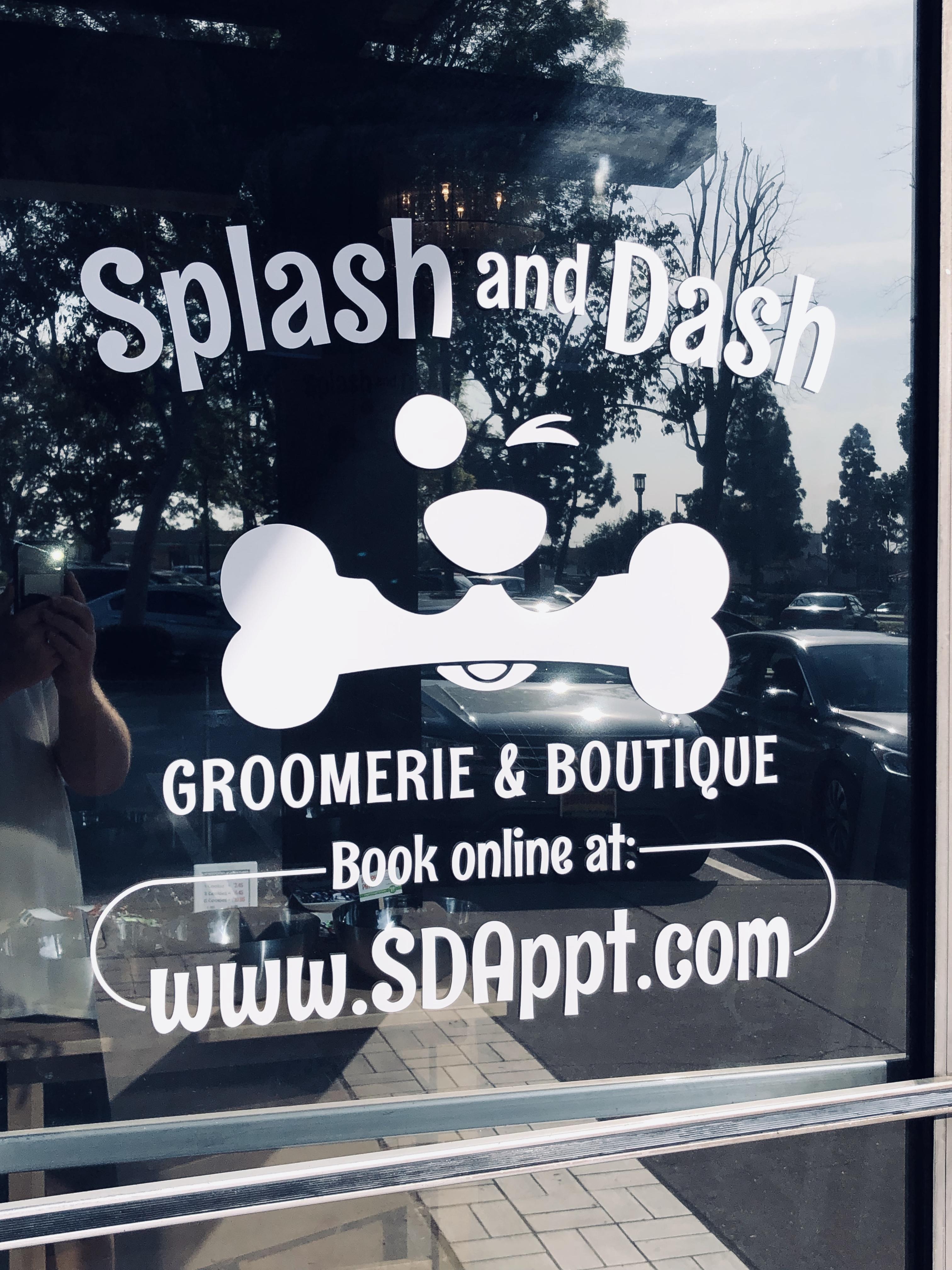 Splash and Dash Groomerie & Boutique La Verne (909)593-5714