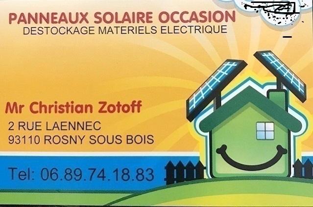 Panneaux solaire occasion store