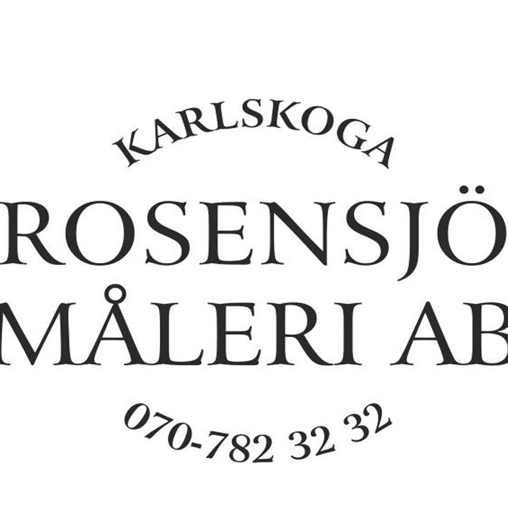 Rosensjös Måleri AB - Målare Karlskoga