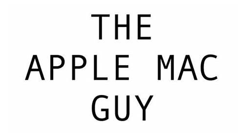 The Apple Mac Guy