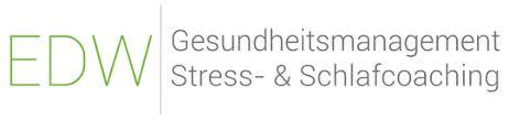 EDW I Gesundheitsmanagement Stress- & Schlafcoaching