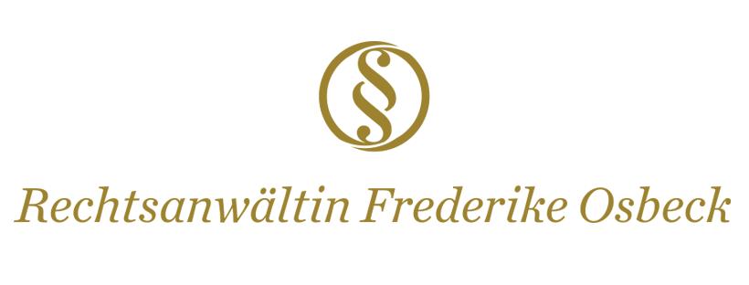 Rechtsanwältin Frederike Osbeck