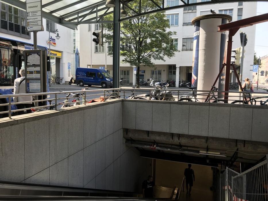 SportScheck Outlet München Ostbahnhof, Orleansplatz in München