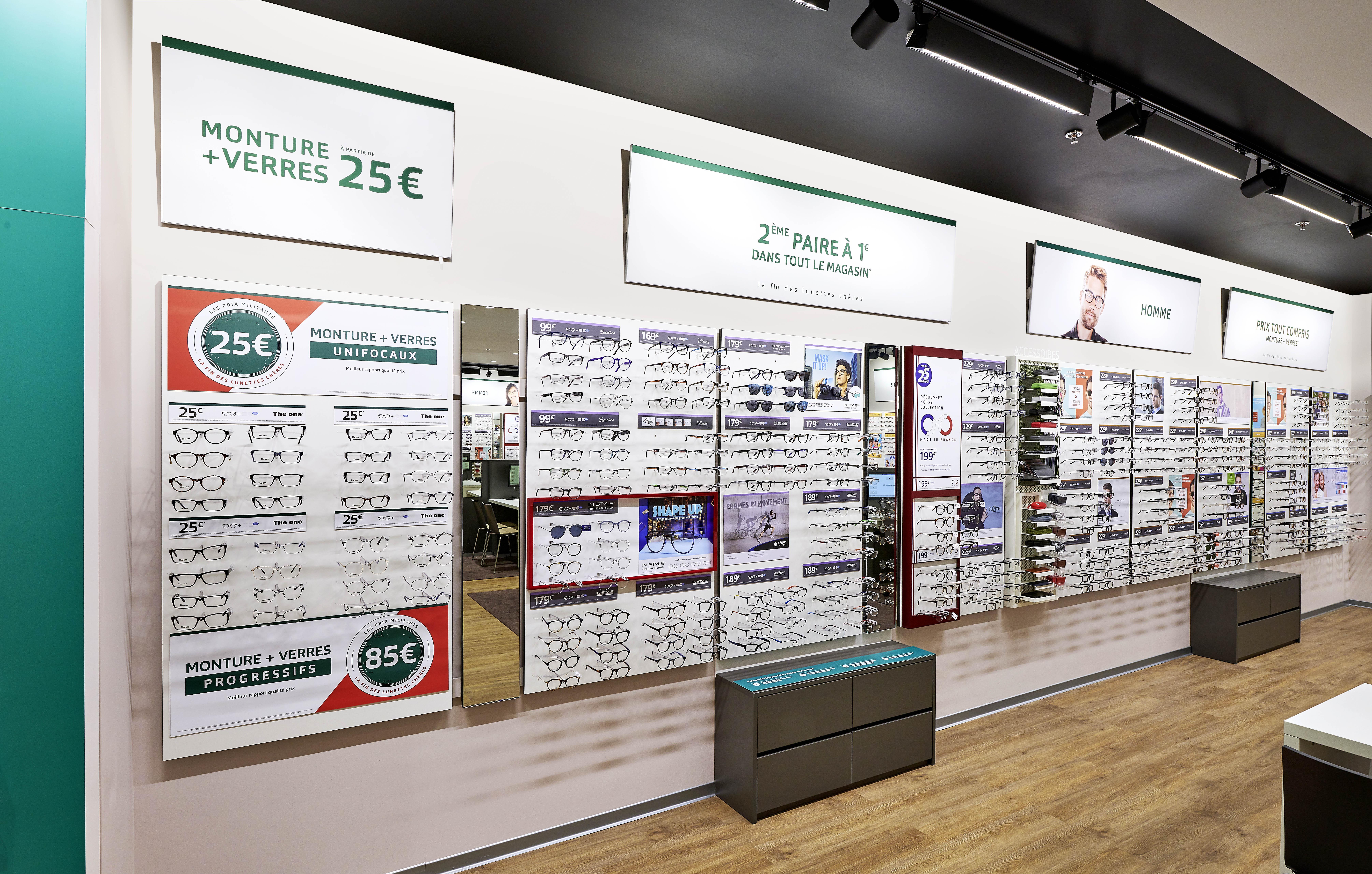 Opticien Générale d'Optique CRETEIL SOLEIL