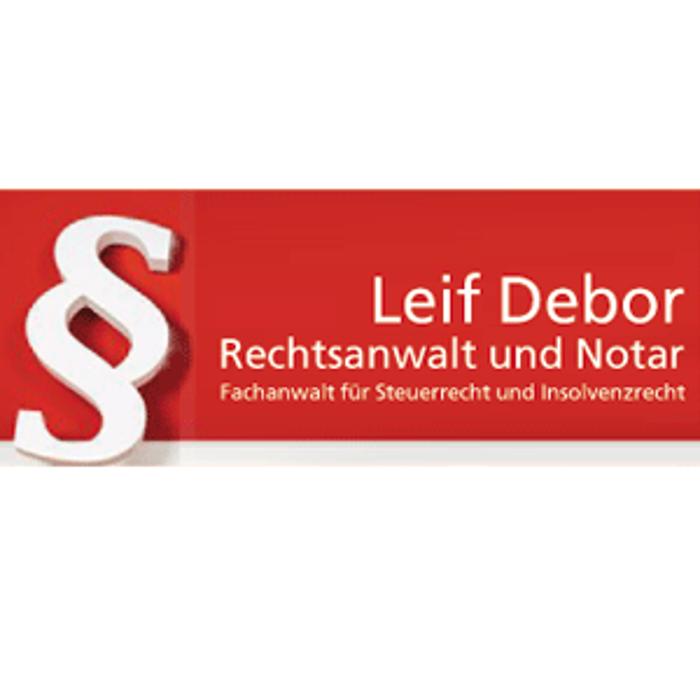 Bild zu Rechtsanwalt und Notar Leif Debor in Hannover