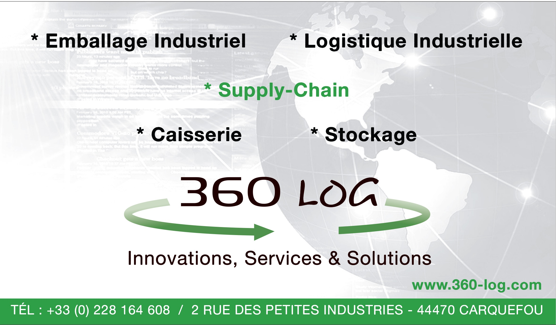 360 LOG transport routier (lots complets, marchandises diverses)