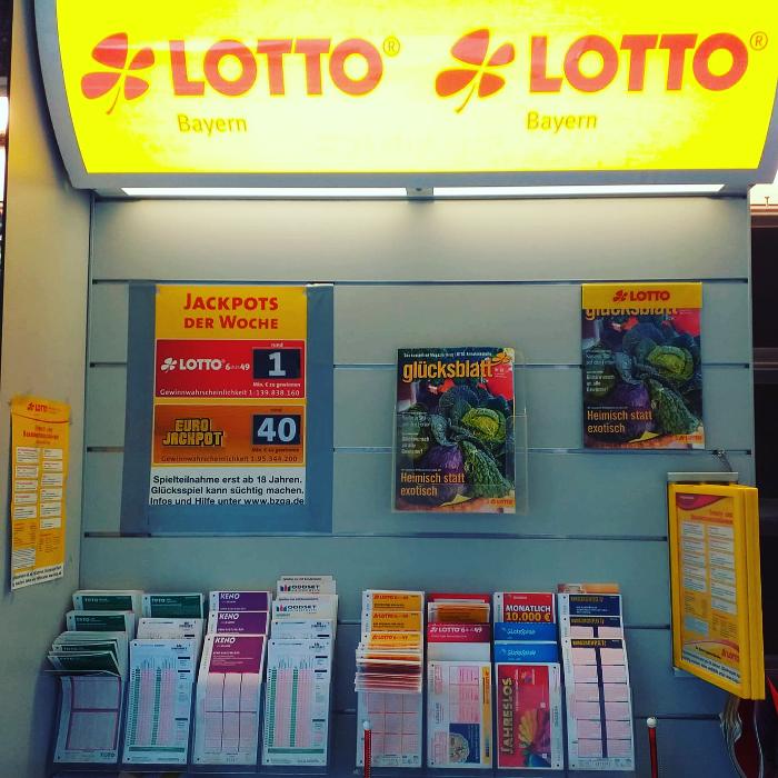 Bild zu Kiosk Sailer Tabakwaren Lotto in Augsburg
