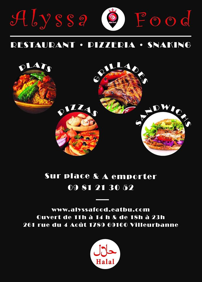 ALYSSA FOOD restauration rapide et libre-service