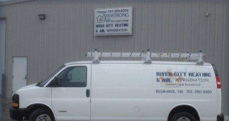River City Heating & Air, Refrigeration - Bismarck, ND 58504 - (701)250-8300   ShowMeLocal.com