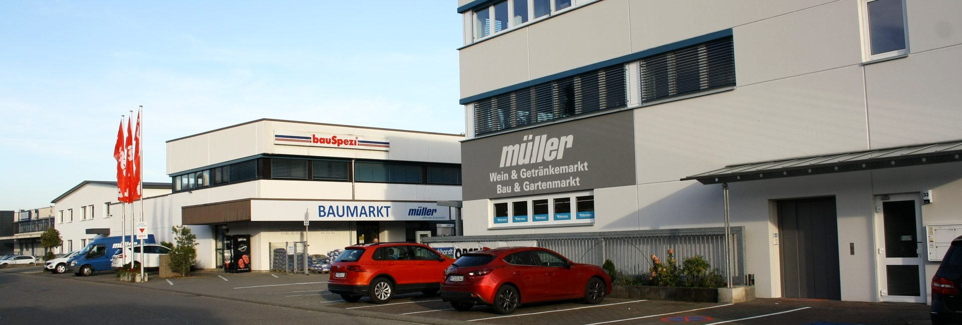 bauSpezi Baumarkt Müller