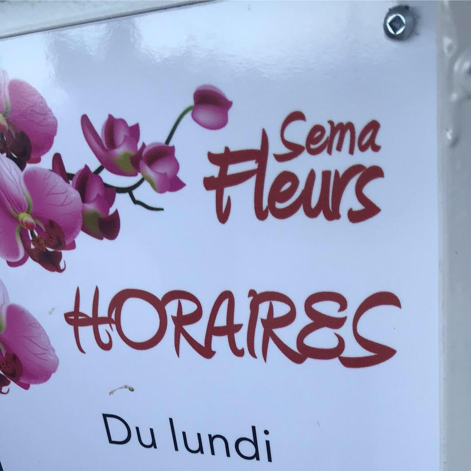 SEMA FLEURS Saint-Denis fleuriste