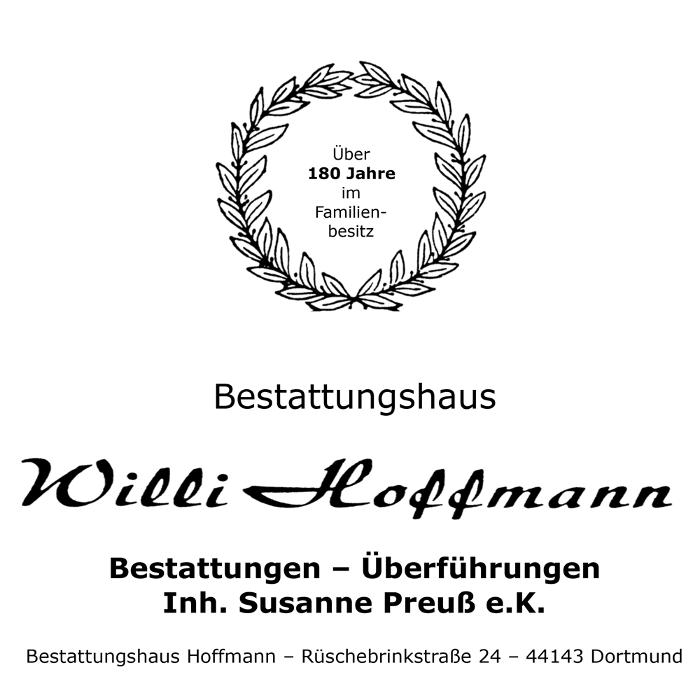 Bild zu Bestattungshaus Willi Hoffmann in Dortmund