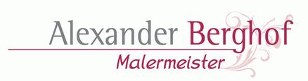 Malermeister Alexander Berghof