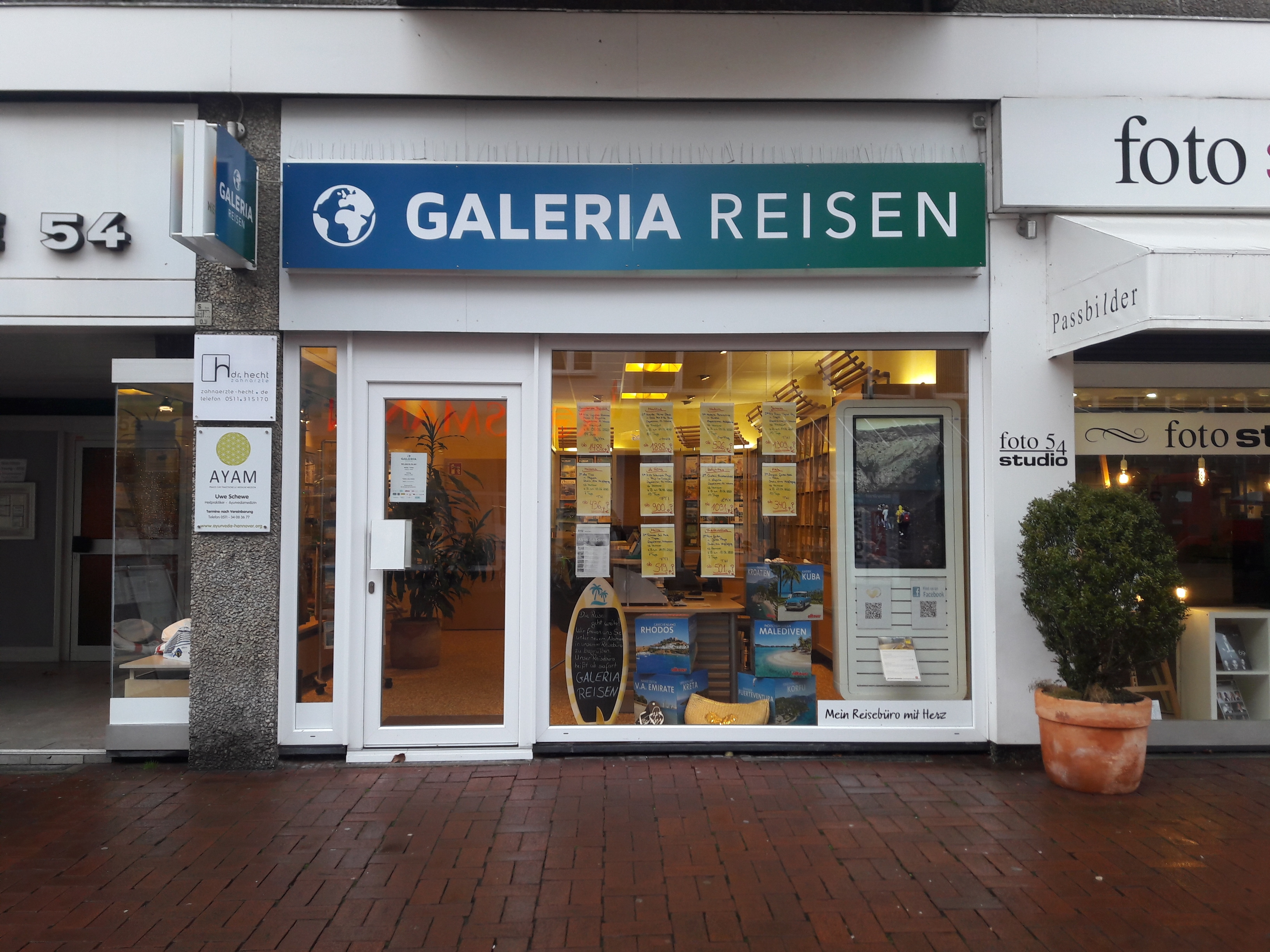 GALERIA Reisen Hannover