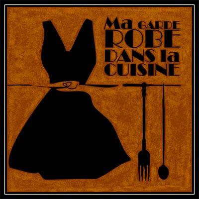 MA GARDE-ROBE DANS LA CUISINE