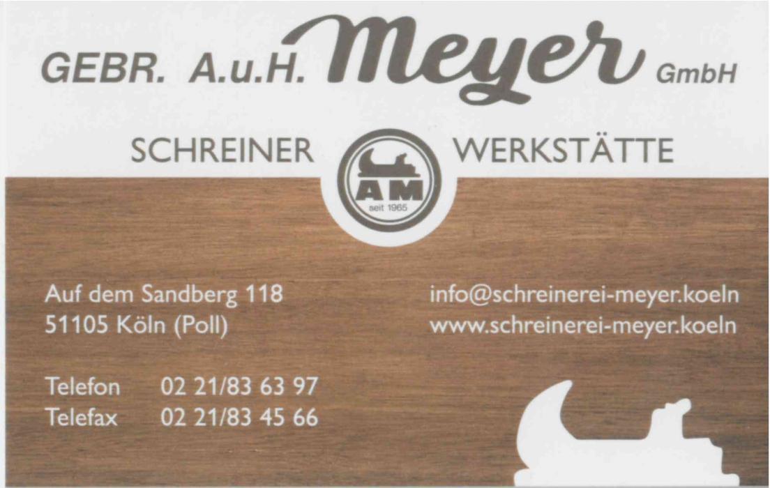 Bild zu Gebr. A. und H. Meyer GmbH in Köln