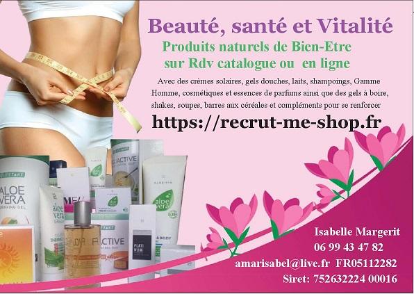 Santé, Beauté et Vitalité recrut-me-shop.fr institut de beauté