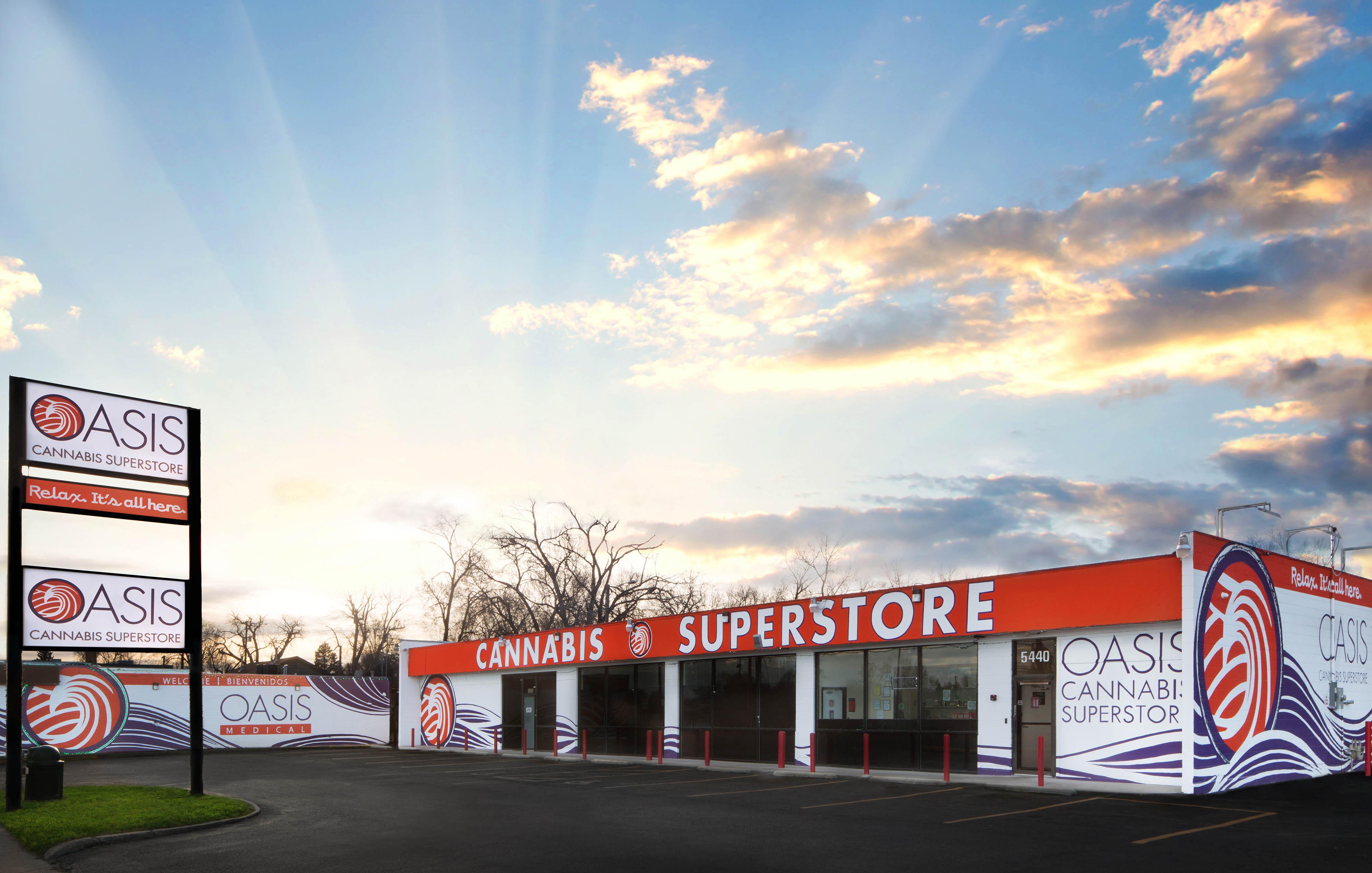 Oasis Cannabis Superstore - Denver, CO 80212 - (303)333-3338   ShowMeLocal.com
