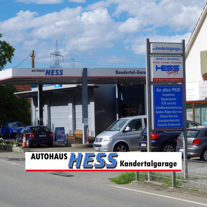 Bild zu Autohaus Hess Kandertalgarage GmbH in Kandern