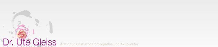 Dr. Ute Gleiss, Ärztin für Allgemeinmedizin und Klassische Homöopathie Graz