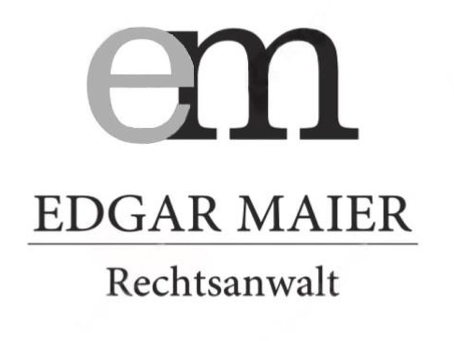 Bild zu Rechtsanwalt Edgar Maier in Kempten im Allgäu