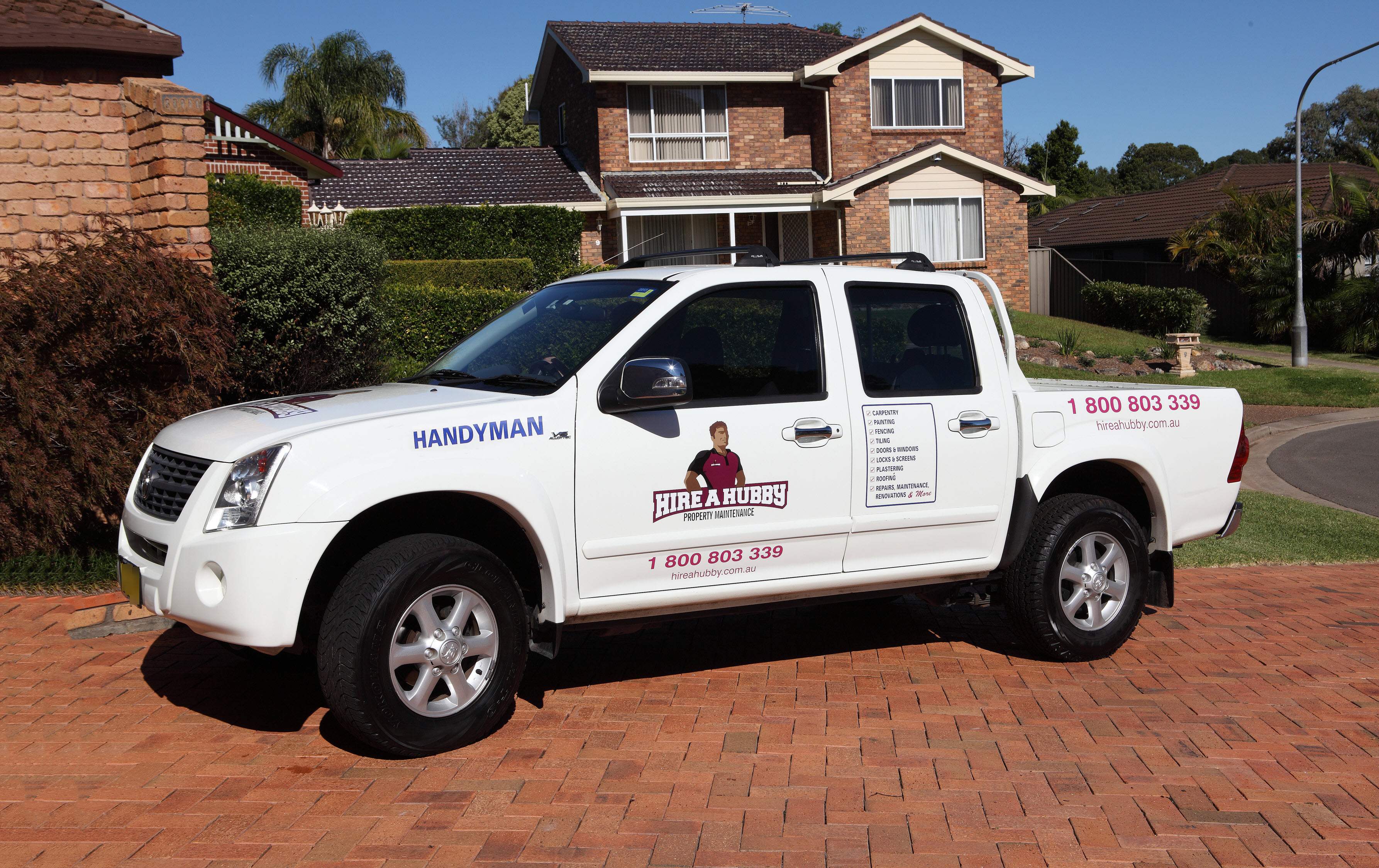 Hire A Hubby Ryde Beecroft 1800 803 339