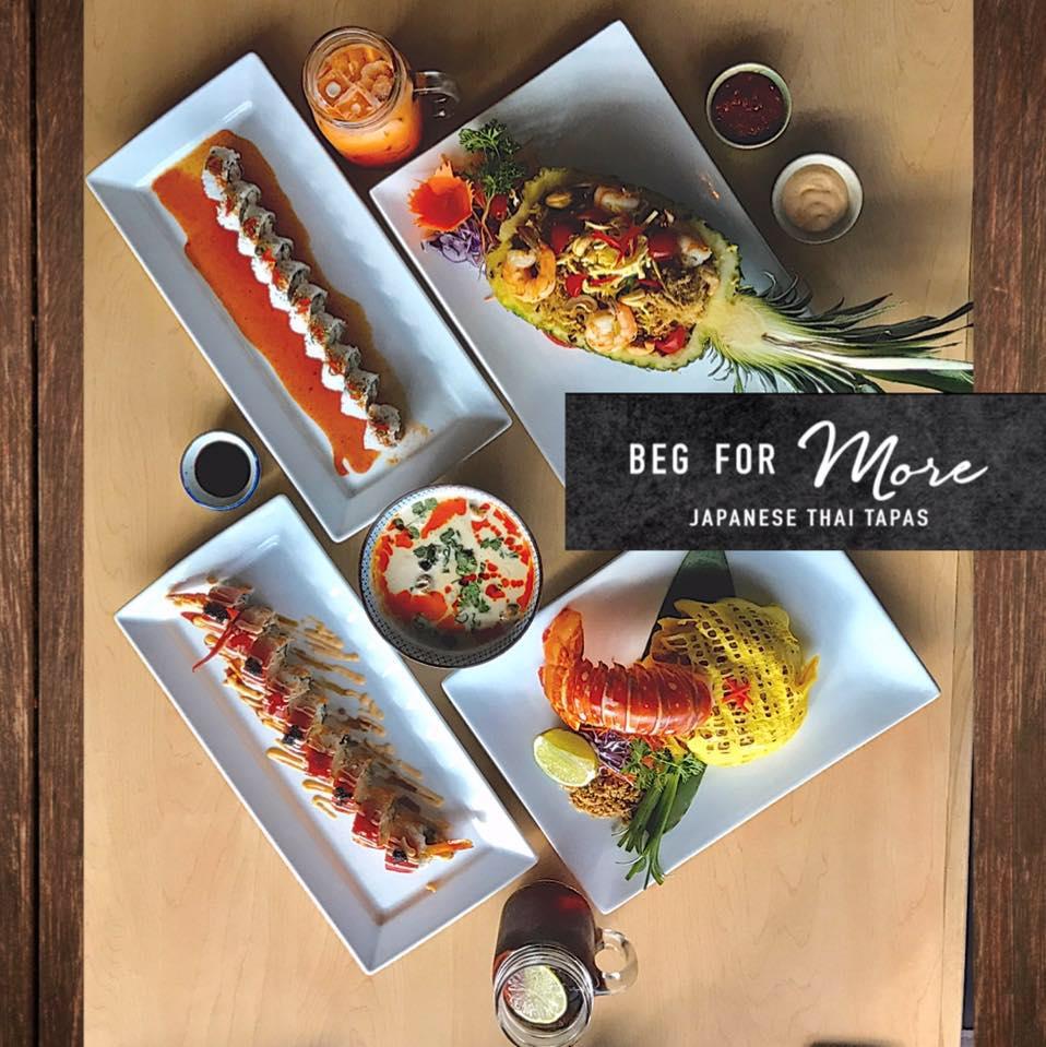 Beg for More Sushi & Thai