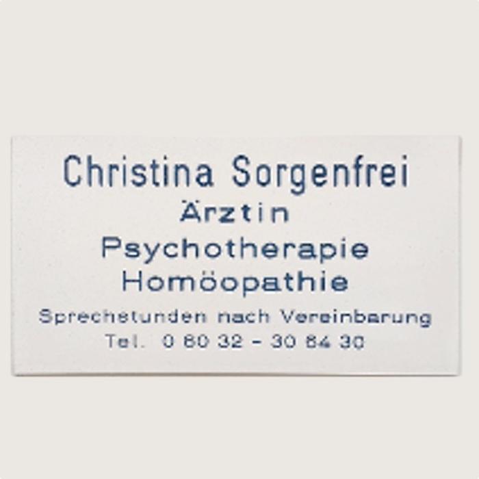 Bild zu Christina Sorgenfrei Ärztin für Psychotherapie in Bad Nauheim