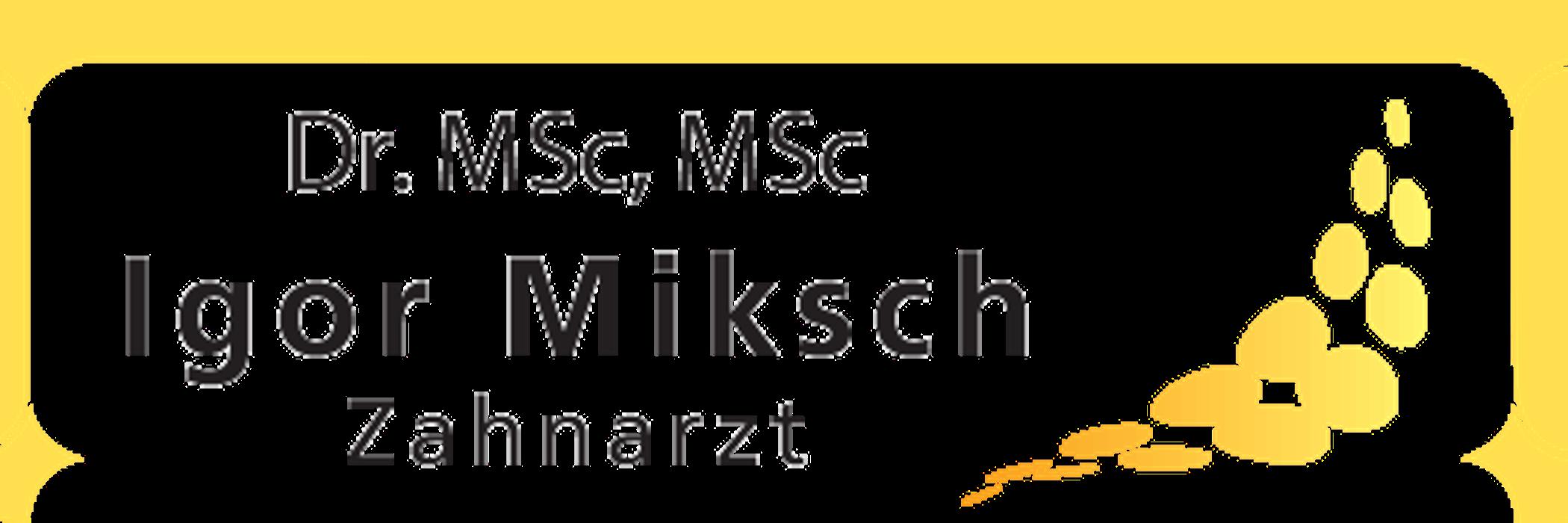Bild zu Dr. med. Zahnarzt Igor Miksch in Ergolding