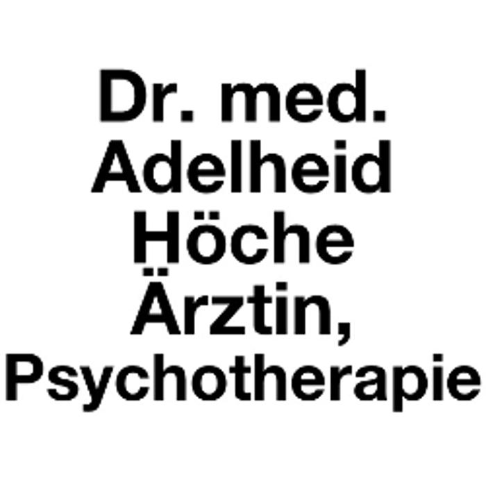 Bild zu Dr. med. Adelheid Höche Ärztin, Psychotherapie in Bad Nauheim