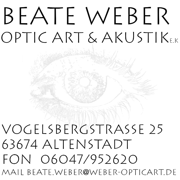 Bild zu Beate Weber Optic Art & Akustik in Altenstadt in Hessen