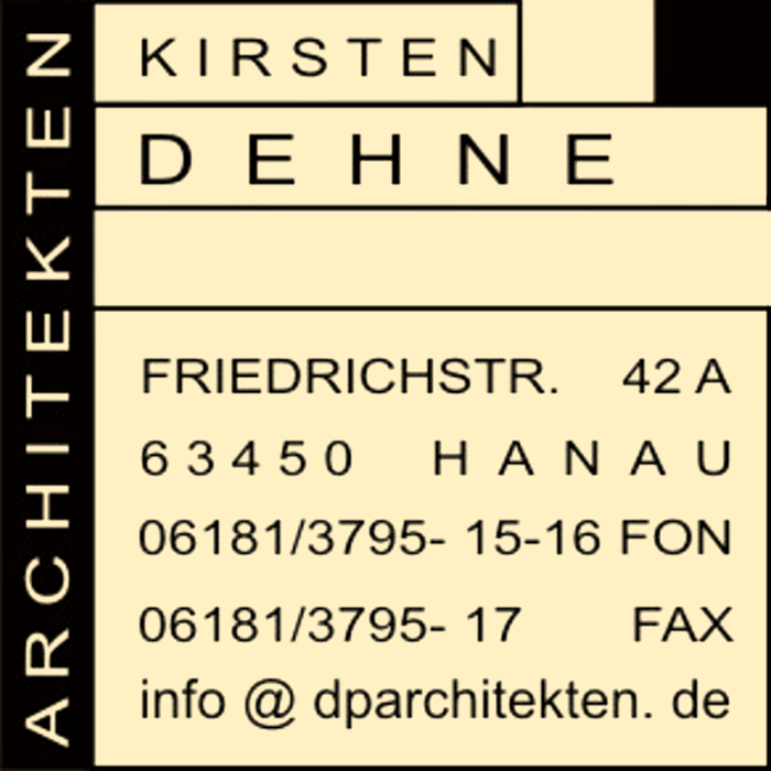 Bild zu Kirsten Dehne Architekten in Hanau