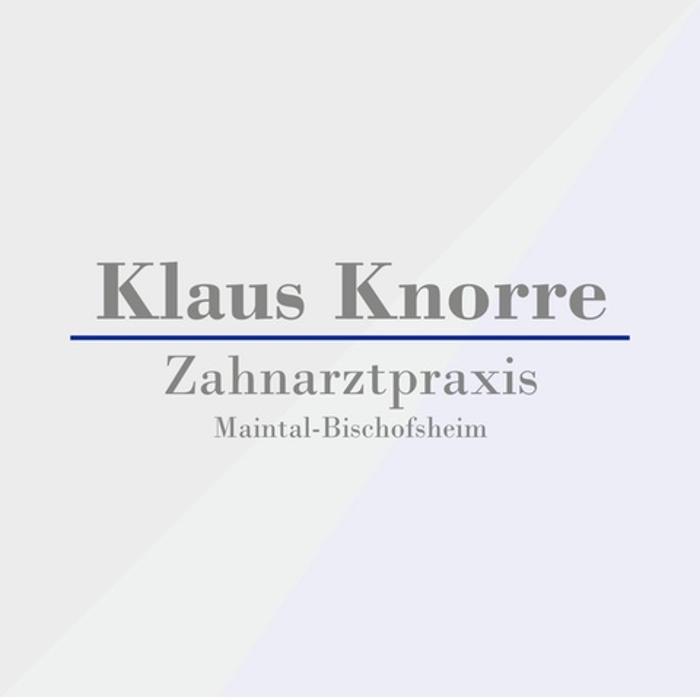 Bild zu Klaus Knorre Zahnarzt in Maintal