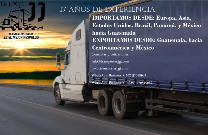 Transportes jj Guatemala