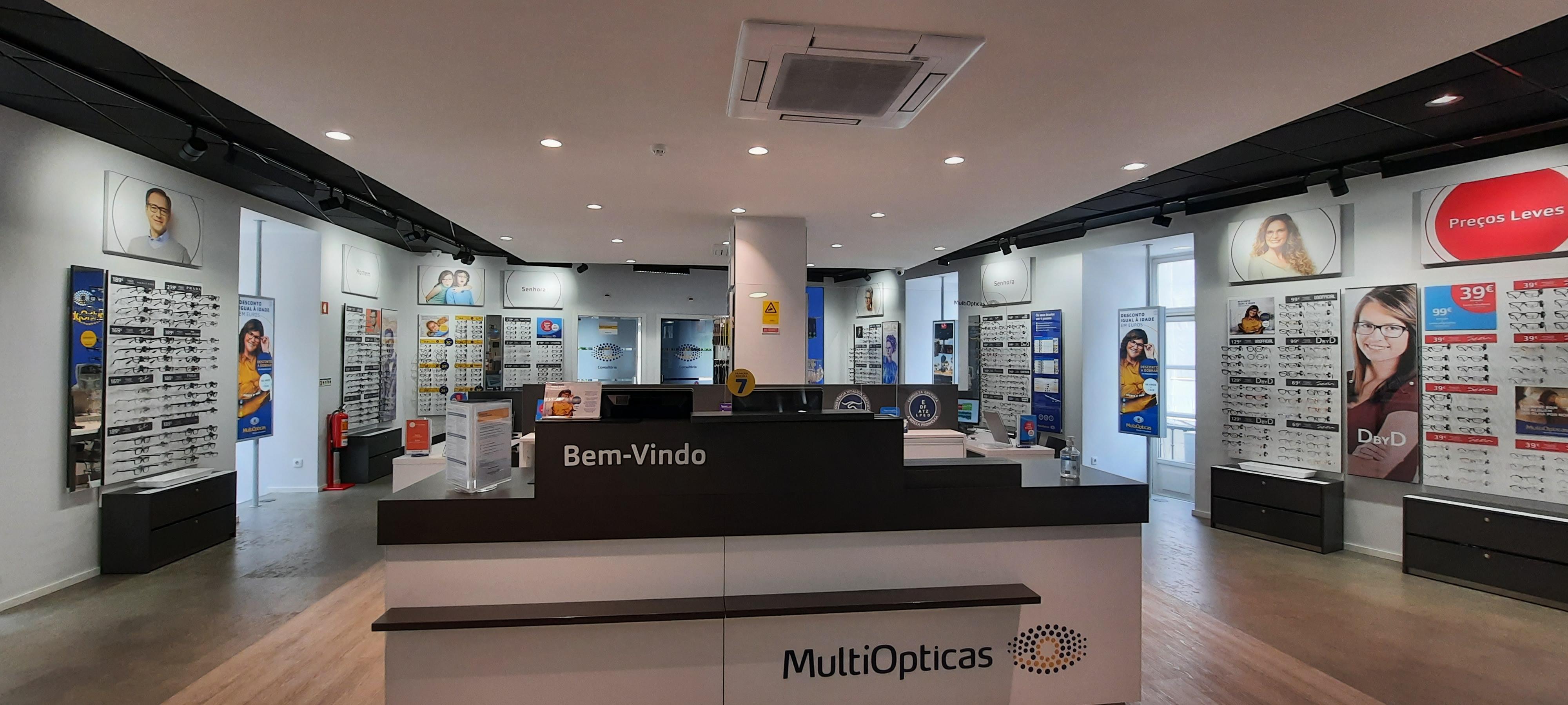 Ópticas MultiOpticas Rossio Lisboa