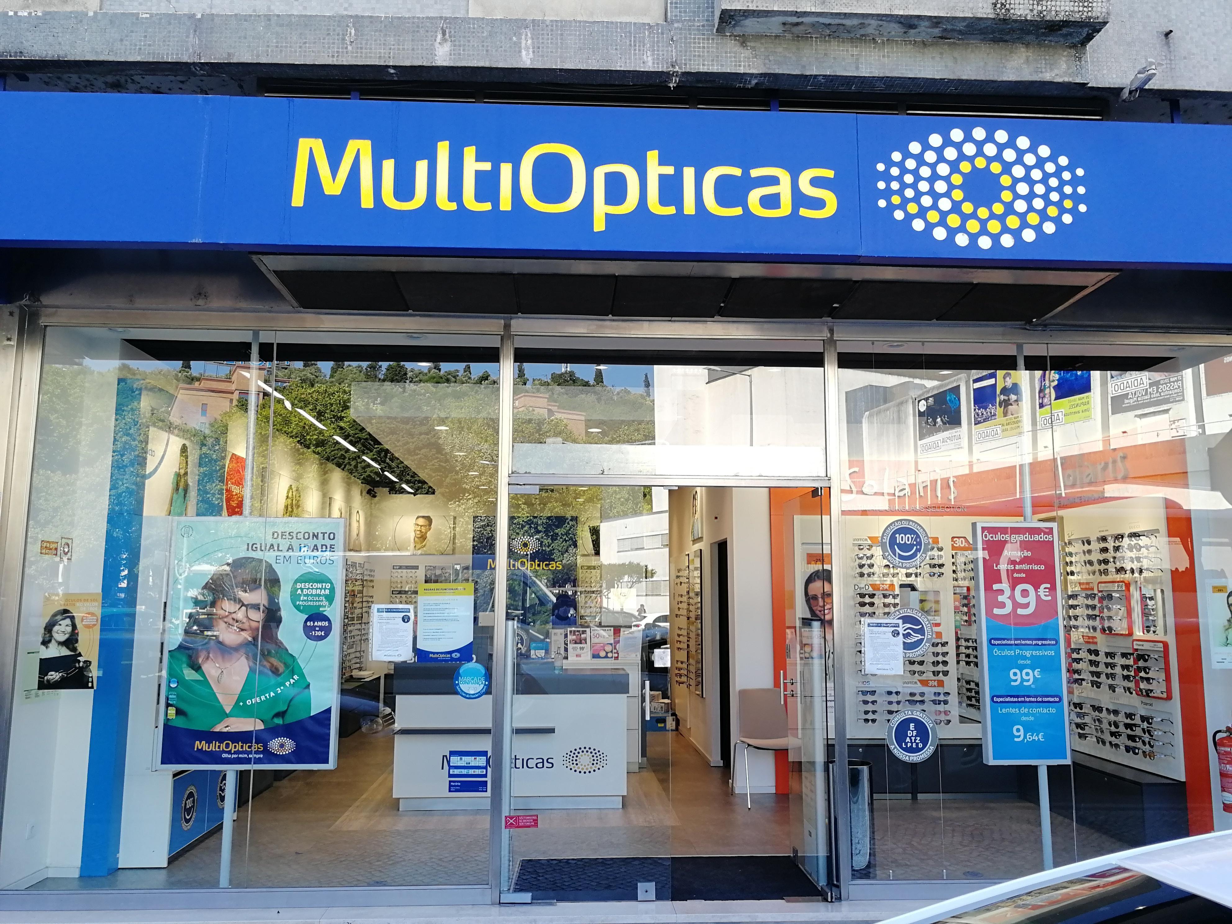 Ópticas MultiOpticas Leiria