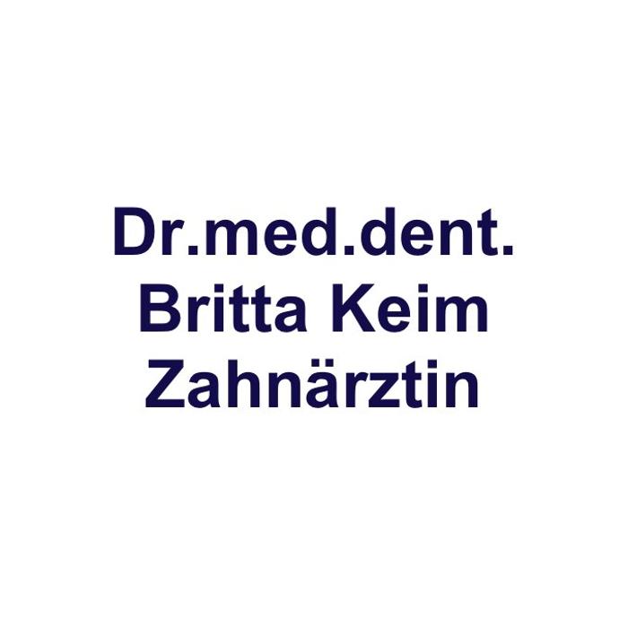 Bild zu Dr. med. dent. Britta Keim Zahnärztin in Freigericht