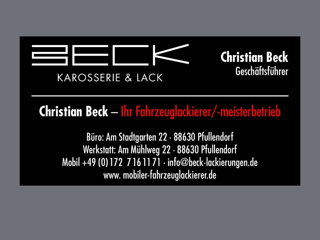 Beck Lackierungen