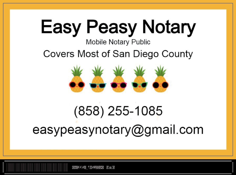 Easy Peasy Notary, Inc.