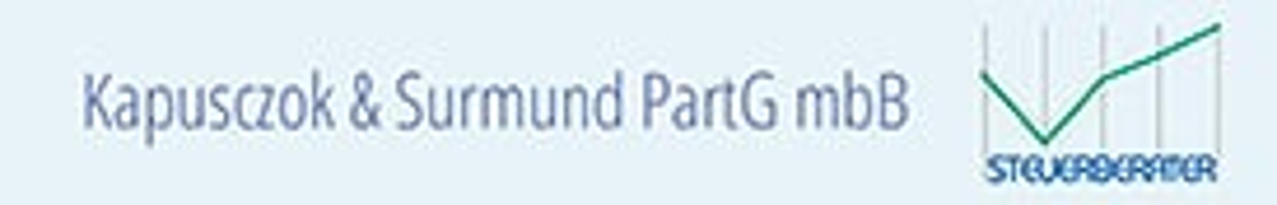 Bild zu Kapusczok & Surmund Steuerberater PartG mbB in Duisburg