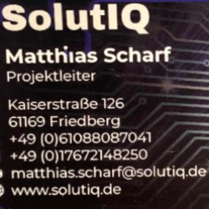 Bild zu SolutIQ UG in Friedberg in Hessen